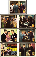 """Movie Posters:Mystery, Charlie Chan's Murder Cruise (20th Century Fox, 1940). Title Lobby Card and Lobby Cards (6) (11"""" X 14"""").. ... (Total: 7 Items)"""
