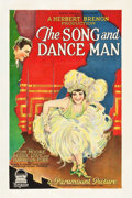 "Movie Posters:Drama, The Song and Dance Man (Paramount, 1926). One Sheet (27"" X 41"").Drama.. ..."