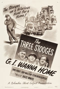 "Movie Posters:Comedy, G.I. Wanna Home (Columbia, 1946). One Sheet (27.5"" X 40.75"").. ..."