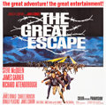 "Movie Posters:War, The Great Escape (United Artists, 1963). Six Sheet (80"" X 80.75"")....."