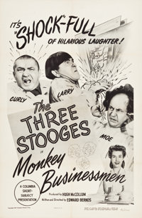 "Monkey Businessmen (Columbia, 1946). One Sheet (27"" X 41"")"