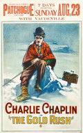 "Movie Posters:Comedy, The Gold Rush (United Artists, 1925). Window Card (13.75"" X21.75"").. ..."