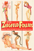 "Movie Posters:Musical, Ziegfeld Follies (MGM, 1945). One Sheet (27"" X 41"") Style D.. ..."