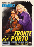 "Movie Posters:Academy Award Winners, On the Waterfront (Columbia, R-1960). Italian 2 - Foglio (39.5"" X55"").. ..."