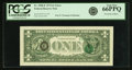 Fr. 1908-E $1 1974 Federal Reserve Note. PCGS Gem New 66PPQ