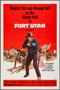 """Movie Posters:Western, Fort Utah & Other Lot (Paramount, 1967). One Sheets (2) (27"""" X 41""""). Western.. ... (Total: 2 Items)"""