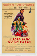 "Movie Posters:Academy Award Winners, A Man For All Seasons (Columbia, R-1972). One Sheet (27"" X 41"").Academy Award Winners.. ..."