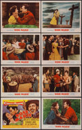 """Movie Posters:Musical, Rose Marie & Other Lot (MGM, 1954). Lobby Card Set of 8 (11"""" X 14"""") & One Sheet (27"""" X 41""""). Musical.. ... (Total: 9 Items)"""