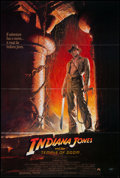 "Movie Posters:Adventure, Indiana Jones and the Temple of Doom (Paramount, 1984). One Sheet(27"" X 40""), Style A. Adventure.. ..."
