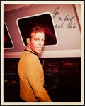"""Movie Posters:Science Fiction, William Shatner as Captain James T. Kirk in Star Trek (Paramount,1967). Autographed Publicity Photo (8"""" X 10""""). Science Fic..."""