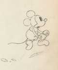 Animation Art:Production Drawing, Mickey Mouse Production Drawing Animation Art (Walt Disney, c.1930s)....