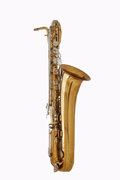 Musical Instruments:Horns & Wind Instruments, 1980 Selmer USA Brass Baritone Saxophone, Serial # 983887....