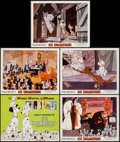 "Movie Posters:Animation, 101 Dalmatians (Buena Vista, R-1969). Lobby Card Set of 5 (11"" X14""). Animation.. ... (Total: 5 Items)"