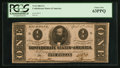 Confederate Notes:1863 Issues, T62 $1 1863 PF-1 Cr. 474. ...