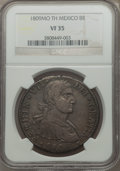 Mexico, Mexico: Ferdinand VII Trio of Certified 8 Reales 1809 1810,...(Total: 3 coins)