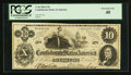 Confederate Notes:1862 Issues, T46 $10 1862 PF-1 Cr. 344.. ...