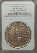 Brazil, Brazil: Joao Prince Regent Trio of Certified 960 Reis Coins 18141815,... (Total: 3 coins)