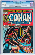 Bronze Age (1970-1979):Superhero, Conan the Barbarian #23 Don/Maggie Thompson Collection pedigree(Marvel, 1973) CGC NM/MT 9.8 White pages....