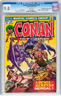 Bronze Age (1970-1979):Superhero, Conan the Barbarian #30 Don/Maggie Thompson Collection pedigree (Marvel, 1973) CGC NM/MT 9.8 White pages....