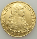 Colombia, Colombia: Charles IV gold 8 Escudos 1807 NR-JJ VF/XF Polished,...