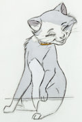Animation Art:Production Cel, The Aristocats Duchess, Marie, and Berlioz Production CelGroup (Walt Disney, 1970)....