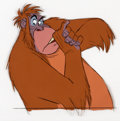 Animation Art:Production Cel, The Jungle Book King Louie Production Cel (Walt Disney,1967)....