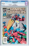 Modern Age (1980-Present):Science Fiction, Transformers #12 (Marvel, 1986) CGC NM/MT 9.8 White pages....