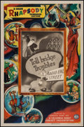 "Movie Posters:Animation, Toll Bridge Troubles (Columbia, 1942). Color Rhapsody One Sheet (27"" X 41""). Animation.. ..."