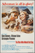 """Movie Posters:Adventure, The Man Who Would Be King (Columbia, 1975). One Sheet (27"""" X 41"""").Adventure.. ..."""