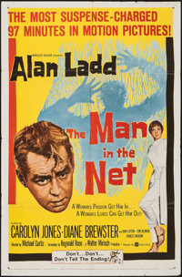 "The Man in the Net (United Artists, 1959). One Sheet (27"" X 41""). Mystery"