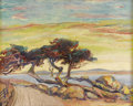 Texas:Early Texas Art - Impressionists, SETH FLOYD CREWS (1873-1958). The Lone Tree. Oil oncanvasboard. 17in. x 21in.. Signed lower right. Titled verso.Seth...