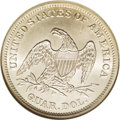 Seated Quarters: , 1838 25C No Drapery MS65 NGC. Open Claws Reverse. This lustrousfirst-year Seated quarter has only a hint of olive toning. ...