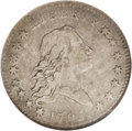 Early Half Dollars: , 1795 50C 2 Leaves VF20 NGC. O-110a, R.4. The die crack through theTY in LIBERTY and two nearby stars identifies this Overt...