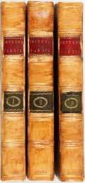 Books:Literature Pre-1900, [John Dryden, translator] Virgil. The Works of Virgil: Containing His Pastorals, Georgics and Aeneis. London: Jacon ... (Total: 3 Items)