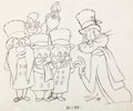 Animation Art:Production Drawing, Bugs Bunny's Looney Christmas Tales Publicity Drawing(Warner Brothers, 1979)....