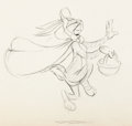 Animation Art:Production Drawing, The Windblown Hare Bugs Bunny Animation Drawing (WarnerBrothers, 1949)....