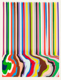 Fine Art - Work on Paper:Print, IAN DAVENPORT (British, b. 1966). Etched Lines: Thirty Six,2008. Etching on paper. 27-1/4 x 20-1/2 inches (69.2 x 52.1 ...