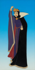 Animation Art:Production Cel, Snow White and the Seven Dwarfs Evil Queen Production Cel(Walt Disney, 1937)....