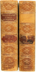 Books:Americana & American History, [Almanac] George Cruikshank, illustrator. The ComicAlmanack. London: Chatto and Windus, 1835-1853. Two volumes.Con... (Total: 2 Items)