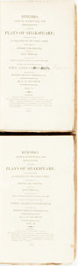 Books:Literature Pre-1900, [Edward] H[ickey] Seymour. Remarks, Critical, Conjectural, AndExplanatory, Upon The Plays Of Shakespeare; Resulting Fro...(Total: 2 Items)
