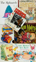 Books:Children's Books, [Children's] Group of Seven SIGNED Children's Books. Variouspublishers and dates. All are either signed by the author, th...(Total: 7 Items)