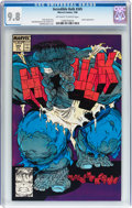 Modern Age (1980-Present):Superhero, The Incredible Hulk #345 (Marvel, 1988) CGC NM/MT 9.8 Off-white towhite pages....