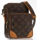 Luxury Accessories:Accessories, Louis Vuitton Classic Monogram Canvas Amazone Cross Body Bag . ...