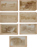 Photography:Cabinet Photos, Photographer McArthur Cullen Ragsdale: Seven Cabinet Cards....(Total: 7 Items)