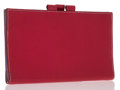 Luxury Accessories:Accessories, Hermes Framboise & Lilas Chevre Leather Vision Agenda PM. ...