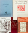 Books:Art & Architecture, [Renaissance.] Group of Five Books Related to the Renaissance. Various publishers and dates.... (Total: 5 Items)