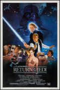"Movie Posters:Science Fiction, Return of the Jedi (20th Century Fox, 1983). One Sheet (27"" X40.5"") Style B. Science Fiction.. ..."