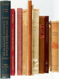 Books:Reference & Bibliography, [English Literature.] Group of Twelve Reference Books Related toEnglish Literature. Various publishers and dates.... (Total: 12Items)
