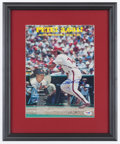 Baseball Collectibles:Photos, Pete Rose and Stan Musial Multi Signed Photograph....