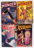 Pulps:Science Fiction, Assorted Science Fiction Pulps Group (Various, 1935-49).... (Total:9 Items)